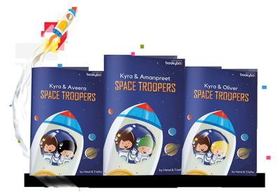 space-troopers-personalised-book